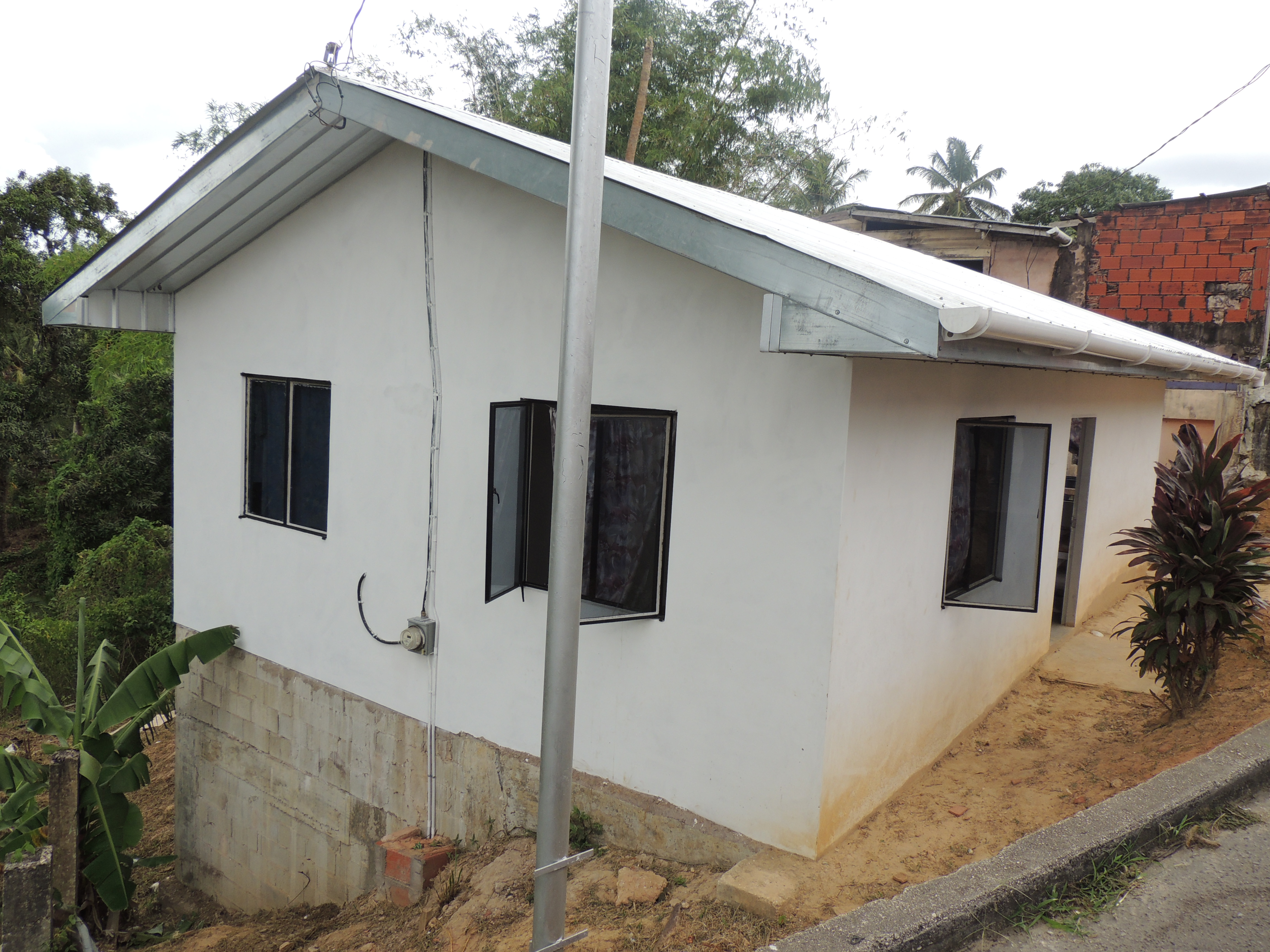 A Starter Home- Fyzabad - trinidad government project