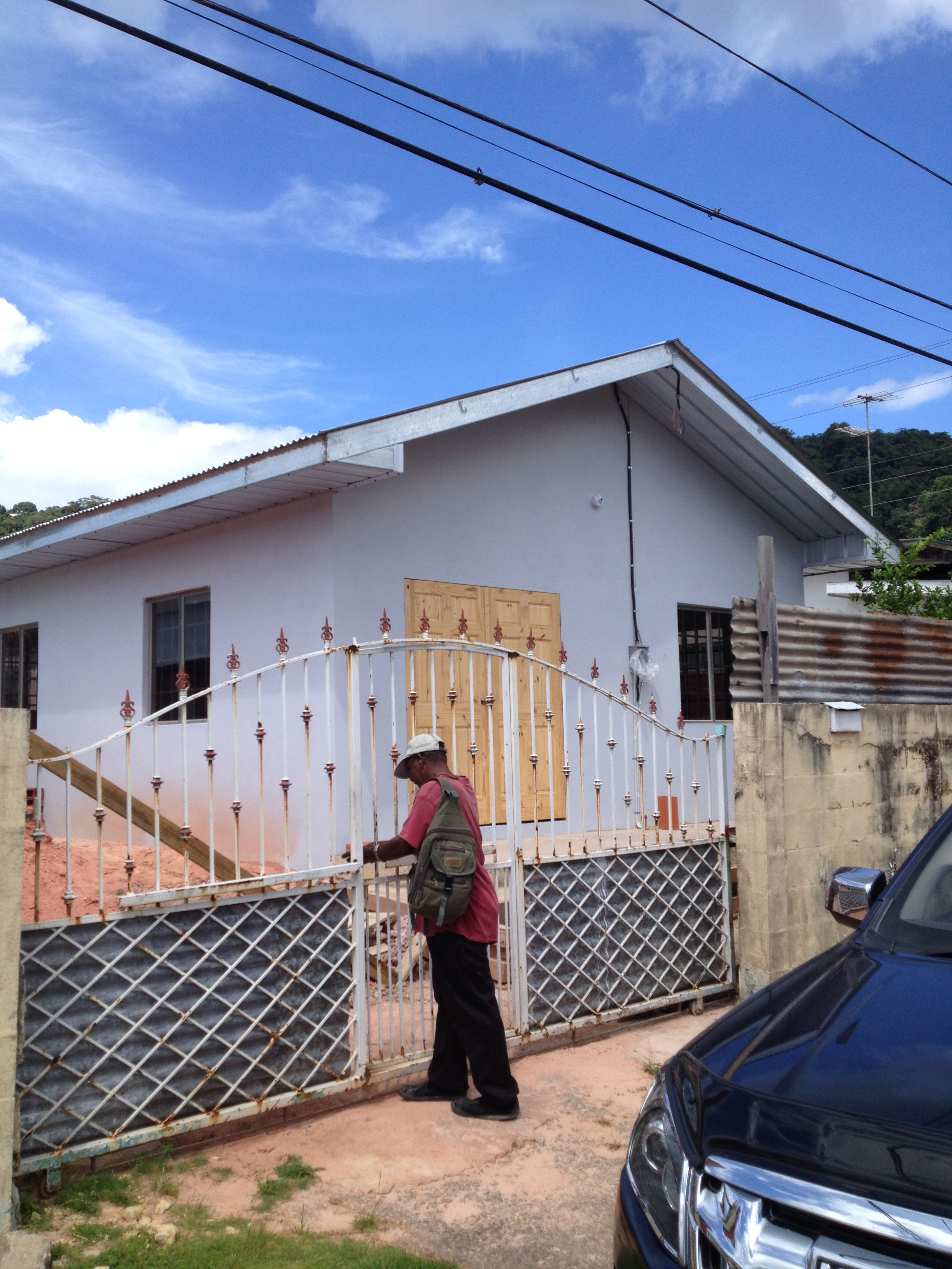 A Starter Home- Diego Martin - trinidad government project